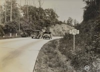 "This Keystone Marker told motorists ""No Parking on This Side of Road."" (Pennsylvania Department of Highways Collection, Pennsylvania State Archives: RG-12 OL 5-0601 box 3, #1701)"