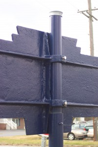 Replacement Post Detail - Dec. 2017 photo by J. Graham