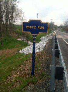 2014 photo by JGl of reinstalled marker.