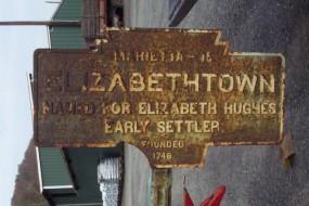 2011 photo by J. Graham shows marker prior to restoration