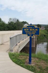 June 2015 photo of restored marker by J. Graham