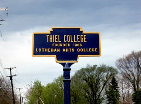 Thiel College Mercer County May 1975