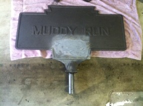 2013 photo by JGl shows restored marker before painting
